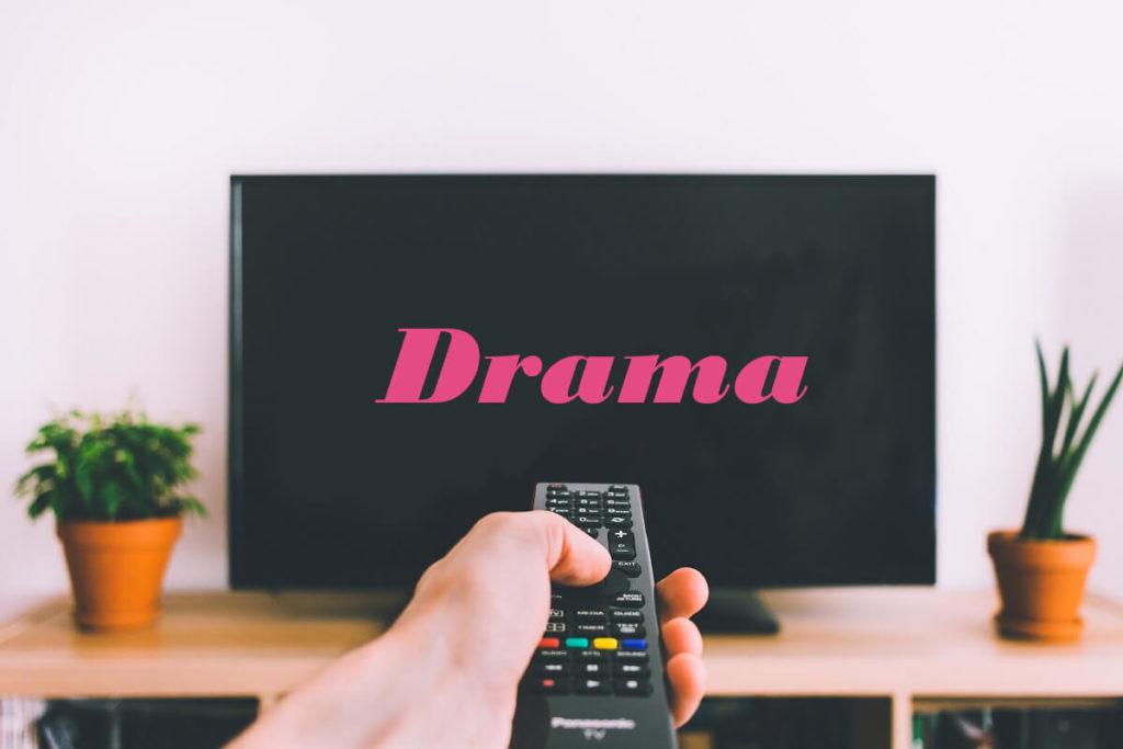 韓国ドラマを見る