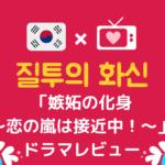 「嫉妬の化身~恋の嵐は接近中!~」韓国ドラマ*感想レビューと韓国語名シーンをご紹介!